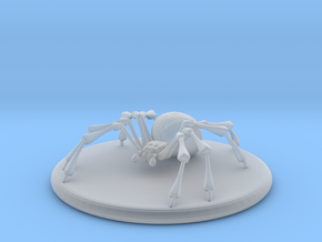 Small Spider in Smooth Fine Detail Plastic