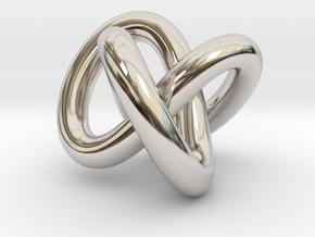 Necklace Infinity in Platinum