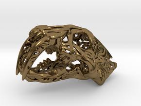 SaberTest-01 in Polished Bronze