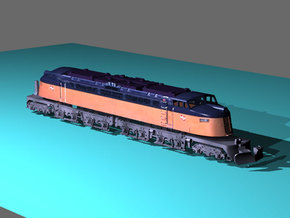 NScale EF4 Little Joe, Milwaukee Road Late with Ro in Frosted Ultra Detail