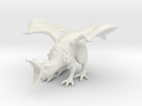 DragonRoar in White Natural Versatile Plastic