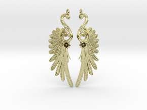 Imperial Wings of Sovereignty Earrings in 18k Gold
