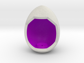 LuminOrb 1.6 - Egg Stand in Full Color Sandstone