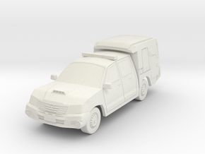 NSW Police Vehicle(HO/1:87 Scale) in White Natural Versatile Plastic