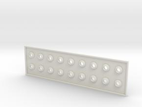 Blinkenlights 2 in White Natural Versatile Plastic