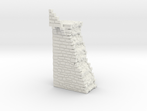 NF8 Modular fortified wall in White Natural Versatile Plastic