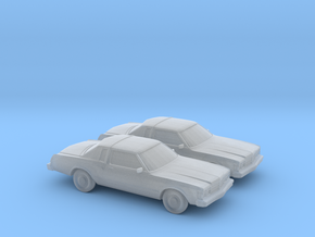 1/160 2X 1977-79 Chrysler Le Baron in Frosted Ultra Detail