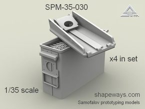 1/35 SPM-35-030  30.cal (7,62mm) ammobox opened in Frosted Extreme Detail