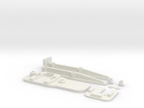 Clampy V3 Printable in White Natural Versatile Plastic