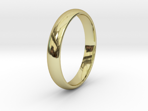 Ring Size 8 1I2 smooth in 18k Gold
