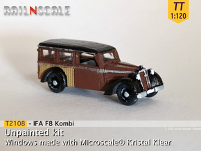 IFA F8 Kombi (TT 1:120) in Smooth Fine Detail Plastic
