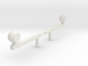 1/64 Versatile Style Flashers slightly oversized l in White Natural Versatile Plastic