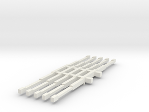 1/64 4wd light bars in White Natural Versatile Plastic