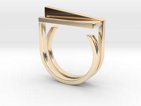 Adjustable ring. Basic set 5. in 14K Yellow Gold
