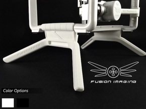 2.4 inch DJI Phantom 3 Gimbal Guard / Leg Extender in White Natural Versatile Plastic