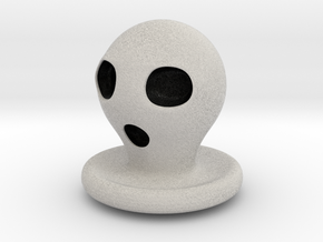 Halloween Character Hollowed Figurine: Ghosty in Full Color Sandstone