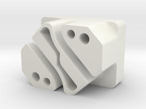 Jeep/Dodge window regulator rev. G upgrade/repair in White Natural Versatile Plastic