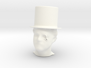 Mr. Fancy  in White Processed Versatile Plastic