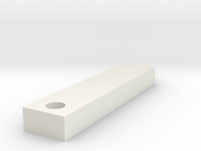Beam in White Natural Versatile Plastic