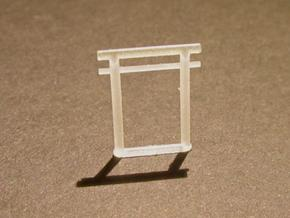 Torii, Kashima small 5x, N-gauge in Smooth Fine Detail Plastic