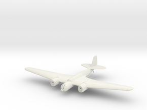 Tupolev SB 2 M-100 in White Natural Versatile Plastic: 1:144