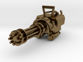 MiniGun in Polished Bronze