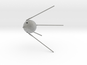 Sputnik Large in Metallic Plastic