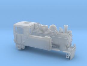 Schmalspurdampflok BR 996102 in H0m (1:87) in Smooth Fine Detail Plastic