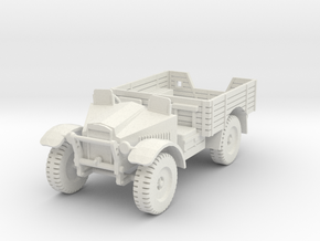 PV62 Morris CS8 15cwt Truck (1/48) in White Natural Versatile Plastic