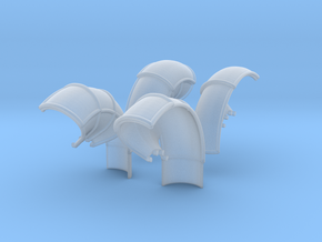 10-Folded LRV - Fenders in Smoothest Fine Detail Plastic