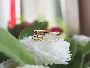 """Butterfly """"Lybochka"""" in Polished Brass"""