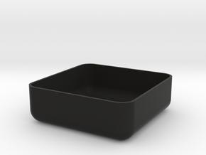 Cover in Black Natural Versatile Plastic