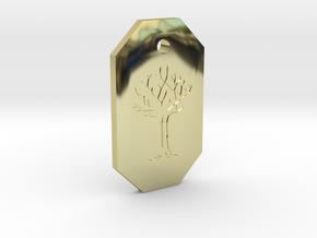 Gared's Pendant in 18k Gold