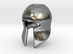 Helm in Polished Silver
