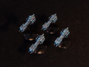 Legion - Infante Class Frigate (x4) in Frosted Ultra Detail