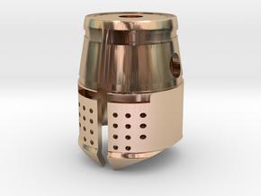 Templar in 14k Rose Gold Plated Brass