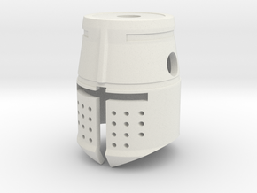 Templar in White Natural Versatile Plastic