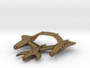 "Retrorocket ""Draco"" in Polished Bronze"