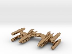 """RetroRocket """"Scorpius"""" in Polished Brass"""