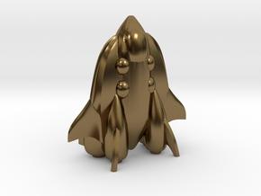 "RetroRocket ""Cetus"" in Polished Bronze"