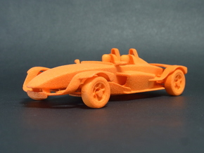 1:43 Formula-ppoino High Downforce (Md021) in Orange Strong & Flexible Polished