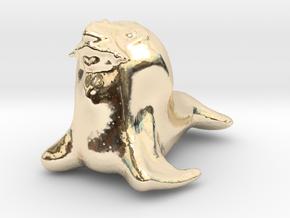 Manruss in 14k Gold Plated Brass
