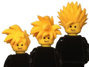 Custom Teen Gohan Inspired Lego in White Strong & Flexible