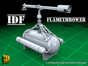 IDF Flamethrower (1/35) in Smooth Fine Detail Plastic