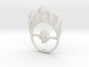 Furiosa buckle from Mad Max: Fury Road in White Natural Versatile Plastic