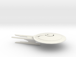 Uss Eclipse  in White Natural Versatile Plastic