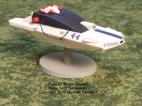 AC02 A13 Police Air Car (28mm) in White Strong & Flexible