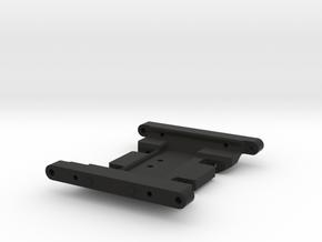 Jeep Tj Custom Kit - Scx10 Skid For Rc4wd Killer in Black Natural Versatile Plastic