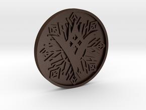 TTK Coin in Matte Bronze Steel