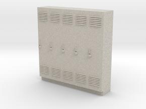 O Scale Lockers in Natural Sandstone